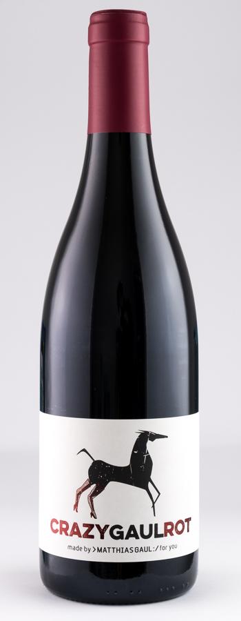 Crazy Gaul Cuvée Weinflasche