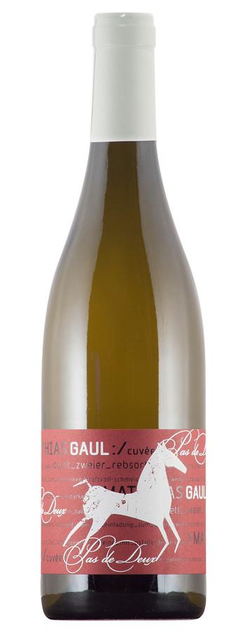 Cuvée Pas de Deux weiß Weinflasche