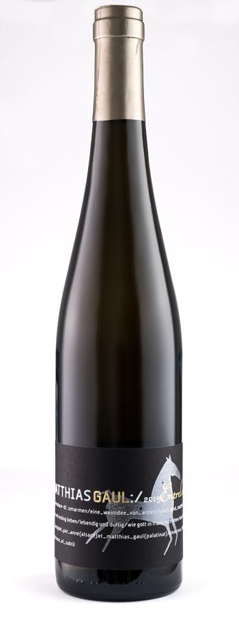 Entrelacé Gewürztraminer/Riesling Weinflasche