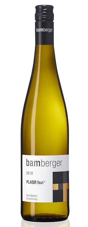 Plaisir Riesling Weinflasche