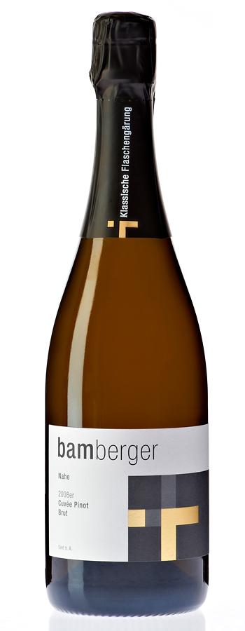 Cuvée Pinot Sekt brut Weinflasche