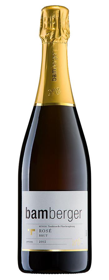 Winzersekt Rosé Brut Weinflasche