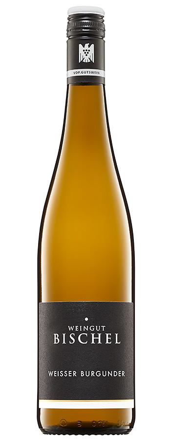Weißer Burgunder Weinflasche