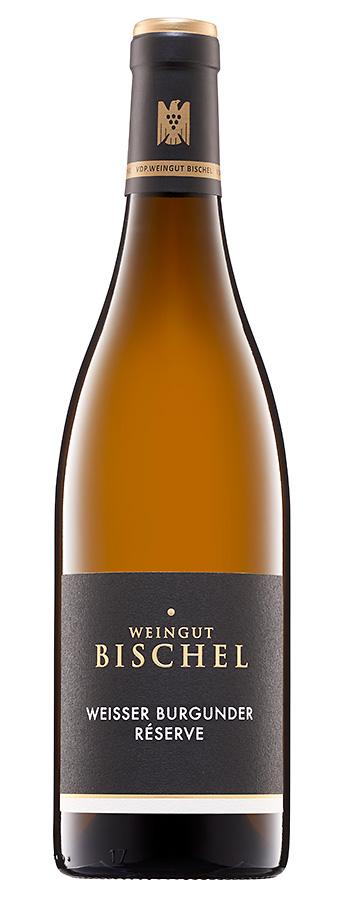 Weißer Burgunder Reserve Weinflasche
