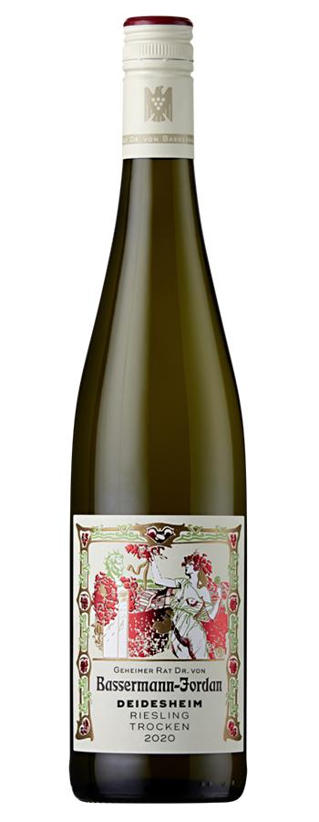 Deidesheimer Riesling Weinflasche