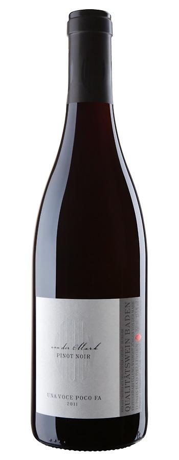 Pinot Noir Liedwein Weinflasche