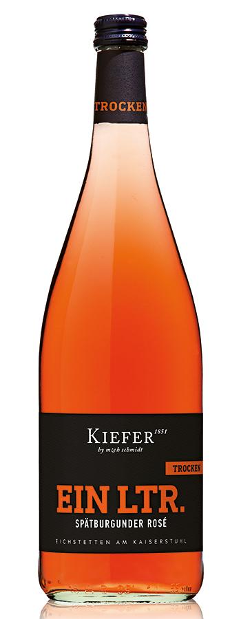 Eichstetter Rosé Weinflasche