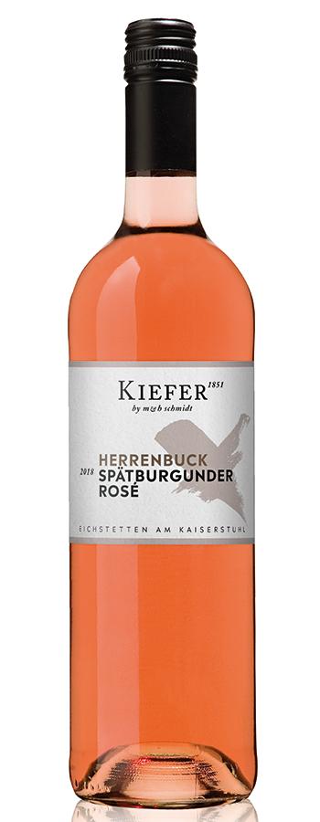 Eichstetter Herrenbuck Spätb. rosé Weinflasche
