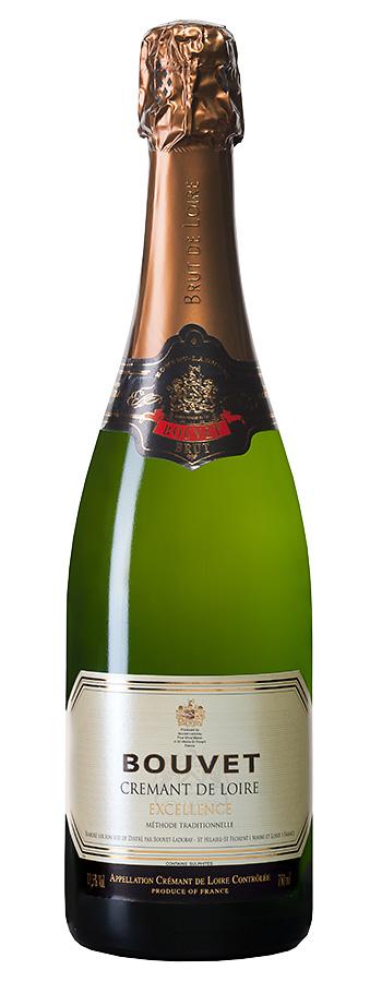 """Crémant de Loire """"Cuvée Excellence"""" Weinflasche"""