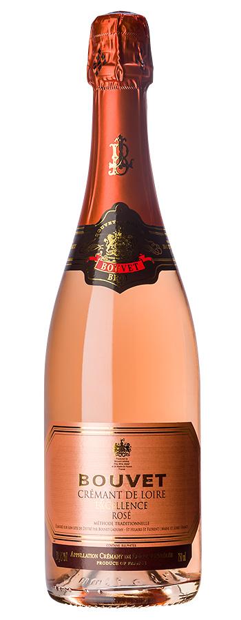 Crémant de Loire brut Rosé Weinflasche